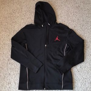 Jordan Zip Up Hoodie Jacket Sz S